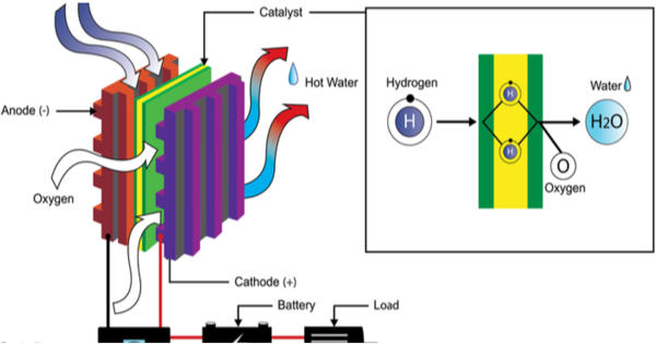 Fuel cells become a great alternative for hydrogen vehicles and longer-lasting