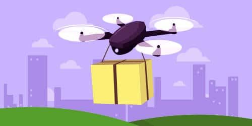 Implement drone technology in retail delivery 1