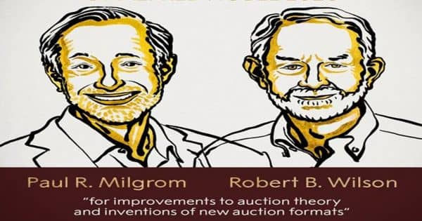 Nobel Prize in Economics 2020 is awarded for improvements to auction theory