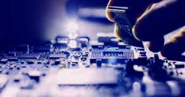 Self-erasing chip for security alerts and detect anti-counterfeit electronics
