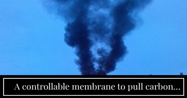 Scientists Develop a way to pull carbon dioxide out of exhaust streams