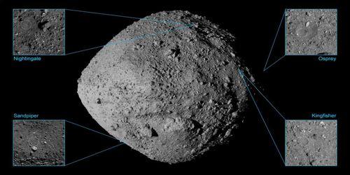 nasa's osiris-rex spacecraft successfully touches asteroid 1
