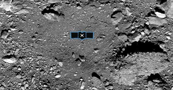 NASA's OSIRIS-REx spacecraft successfully touches asteroid to gather dust and pebbles
